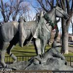 Prescott Arizona Memorial Statues-Realtors Julie and Dennis Jennings