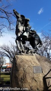 Prescott Arizona Memorial Statues-Realtors Julie and Dennis Jennings